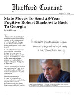 State Moves To Send 48-Year Fugitive Robert Stackowitz Back To Georgia