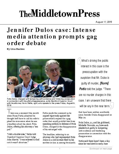 Jennifer Dulos case: Intense media attention prompts gag order debate