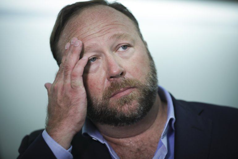Alex Jones blames conspiracy claims on 'psychosis': Deposition