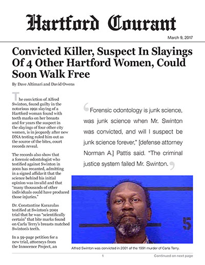 Convicted Killer, Suspect In Slayings Of 4 Other Hartford Women, Could Soon Walk Free