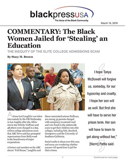 COMMENTARY: The Black Women Jailed for 'Stealing' an Education