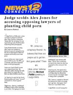 Judge scolds Alex Jones for accusing opposing lawyers of planting child porn