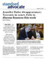 Jennifer Dulos disappearance: Troconis in court, Fotis to discuss finances this week