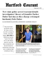 New state police arrest warrant details investigators' theory of Jennifer Farber Dulos' last day as they charge estranged husband, Fotis Dulos