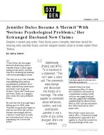 Jennifer Dulos Became A 'Hermit' With 'Serious Psychological Problems,' Her Estranged Husband Now Claims
