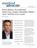 Fotis Dulos, in national interview, hopes Jennifer Dulos case 'will be over soon'