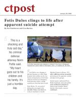 Fotis Dulos clings to life after apparent suicide attempt