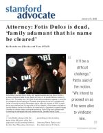 Attorney: Fotis Dulos is dead, 'family adamant that his name be cleared'