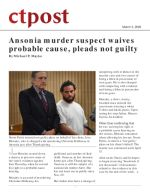 Ansonia murder suspect waives probable cause, pleads not guilty