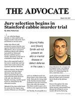 Jury selection begins in Stamford cabbie murder trial