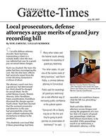 Local prosecutors, defense attorneys argue merits of grand jury recording bill