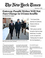Gateway Pundit Writer Will Not Face Charge in UConn Scuffle